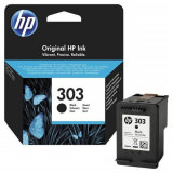 Tinte schwarz HP original T6N02AE Nr. 303
