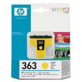 Tinte farbig HP original C8773EE 363  YELLOW