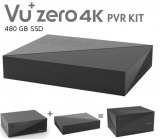 VU+ Zero 4K PVR Kit 480GB SSD