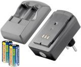 Batterien-Ladegerät für CR123 Akkus