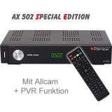 Récepteur Sat Opticum HD AX 502 SE