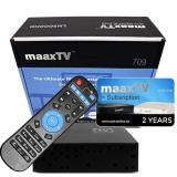 IPTV MaaxTV HD709N Arabic Box + 2 Years