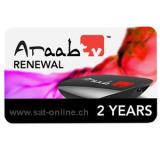IPTV Araab TV Verlängerung Renewal 2 Y.