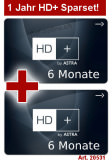 Sat Pay-TV HD Plus 1 Jahr (2x 6 Monate)