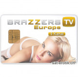 Sat Pay-TV Brazzers Europe 5 Kanal 6Mt