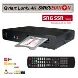 Qviart Lunix 4K Swiss SRG ready Receiver