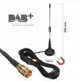 DAB+ Magnet Antenne Pro