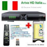 Ariva HD ITALIA Tivusat Sat Receiver Set
