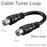 TV Kabel - Cable Tuner Loop 20cm