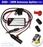DAB+ Auto Antennen Splitter aktiv Pro