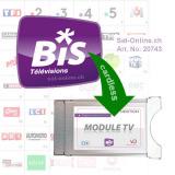 Abonnement Bis TV Panorama pour module Bis Ready