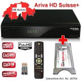 Ariva HD SUISSE+ Viaccess ricevitore satellitare