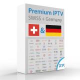 IPTV FTA canali Svizzera + Germania 12 mesi