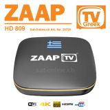 IPTV ZaapTV HD809 Greek Box + 2 Years