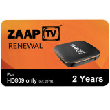 IPTV ZaapTV Arabic Renewal 2Years HD809