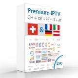 IPTV FTA Sender CH + DE + FR + ITA 12mt