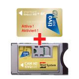 Sat Pay-TV Tivusat 4K tessera attiva+CI