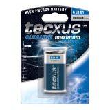 Batterie 1Stk. Tecxus 6LR61 9Volt