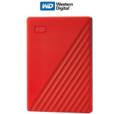 "HD Ext. 2.5"" WD My Passport 2TB Red 2019"