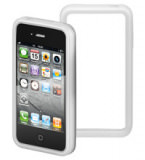 IPhone 4 Silikon Bumper Transparent;