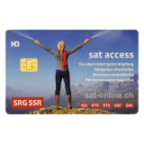 Sat Pay-TV SRG SSR-Karte / SatAccess
