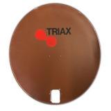 Sat Antenne TRIAX 64cm Reflektor Braun