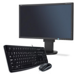 "Monitor 23"" NEC + Tastatur/Maus Set"