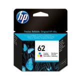 Tinte color HP original C2P06AE Nr. 62
