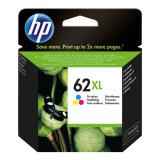 Tinte color HP original C2P07AE Nr. 62XL