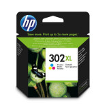 Tinte color HP original F6U67AE Nr. 302XL