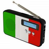 DAB+ Radio SKV DAB 100 Flagge Italien