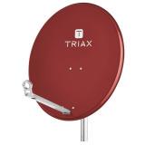 Antenna satellitare TRIAX TDA80A 80cm rosso mattone