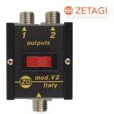 Zetagi V2 - 2-fach Antennenumschalter