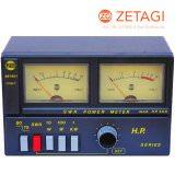 Zetagi HP-500 SWR + Watt Meter 3-200 MHz