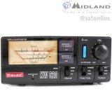 Midland KW520 SWR-Watt Meter 1.8-200 MHz