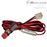 Midland M-88 12V Kabel mit Zigi Adapter