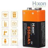 Hixon 9V Li-Ion Akku 850mAh
