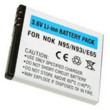 Akku zu Nokia E65/N95/N93i 700MAH Lipol