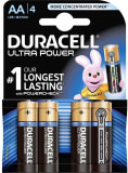 Piles Duracell LR06 AA Ultra 4 pièces