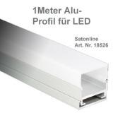 LED Leiste Aluminium-Profil 1Meter