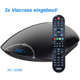Sat Receiver HDTV 2x Viaccess Aston Maya