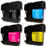 Tinte Bl Brother LC 980 / LC 1100  black