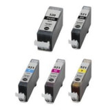 Tinte BL Canon CLI 521 mit chip schwarz