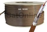 Sat Kabel 100Meter Koax Rolle RG6 BRAUN