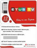 ETUS Türkiye IPTV Verlängerung 1 Jahr