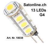 LED Leuchtmittel G4 rund warmweiss 135lm