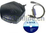 GNS 9833 GPS RDS TMC USB Receiver/Mouse