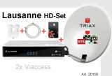 Sat Set Lausanne HD Cahors+TNT+Antenne