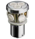 LED BA15 s CLUSTER 12Volt   gelb