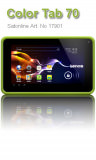Color Tablet Lenco Cooltab-70 Green